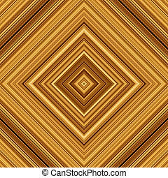 Gold color squares abstract background tiles seamlessly.