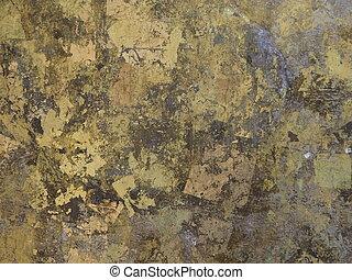 Gold colour background texture.