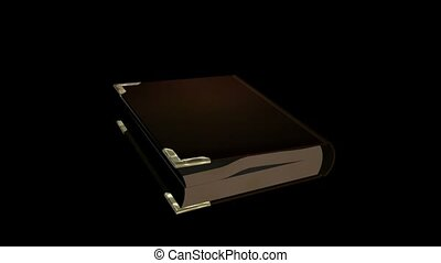 Gold Cornered Book