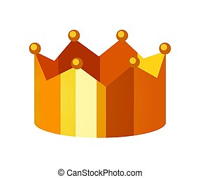 Cartoon Royal Gold Crown Template Cartoon Royal Gold Crown Template With Jewels And Laurel Wreath On Floral Background Canstock Download all 172 crown graphic templates unlimited times with a single envato elements subscription. cartoon royal gold crown template