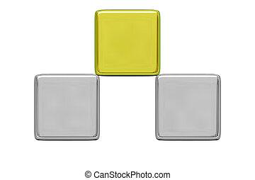 Gold cube winner