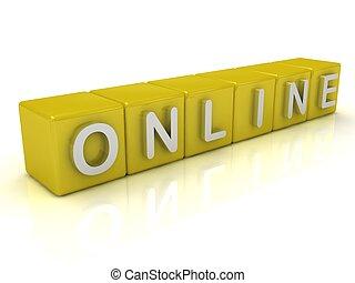 gold:, cubos, en línea
