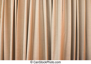 Gold curtain ideal for backgrounds and textures