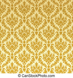 gold damask background