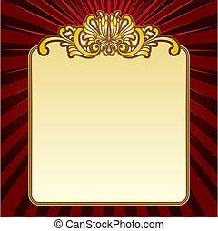 gold decorative border