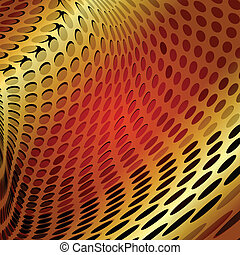 Gold design abstract vector