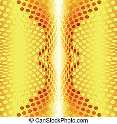 Gold design abstract