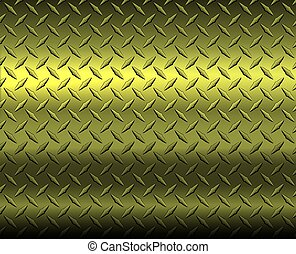 Gold diamond metal sheet texture