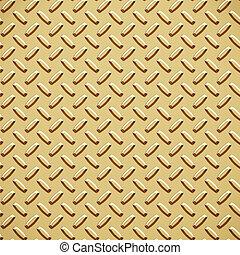 gold diamond plate