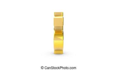Gold Dollar (money sign)