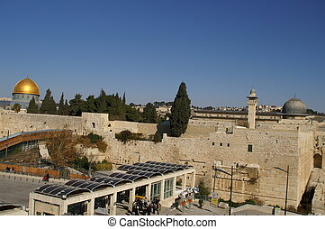 Gold Dome of the rock - Gold Dome of the rock (The Mosque of...