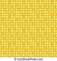 Gold dotted pattern
