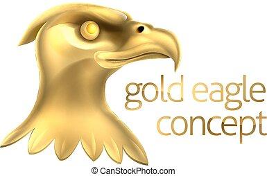 Gold Eagle Head Concept