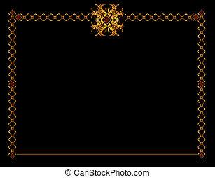 Gold elegant background 1