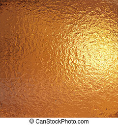 gold foil - a very large sheet of fine crinkled gold ...