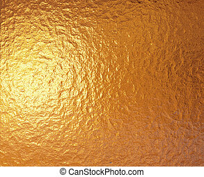 gold foil - a very large sheet of fine crinkled gold...