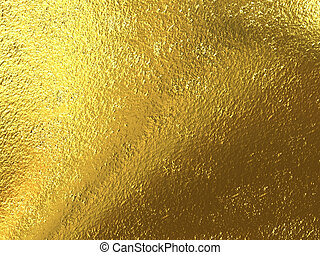 Gold foil - Beautiful rough brilliant metallic texture from ...