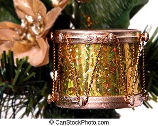 Gold Foil Drum