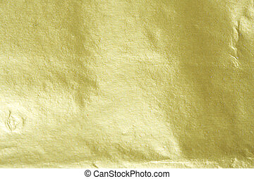Gold foil - Shiny yellow gold foil abstract texture ...
