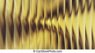 gold foil tiles texture seamless loop background 3D...