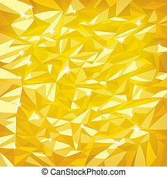 Gold foil - Vector bright gold foil texture