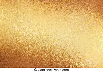 gold foil - very large sheet of gold metal foil