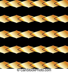 Gold fractal background