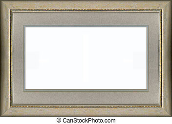 Gold Frame and Mat