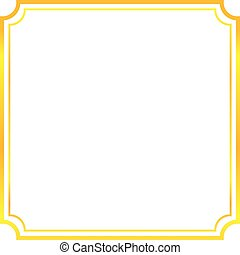 gold frame border design. Gold Frame. Beautiful Simple Golden Design. Gold Frame Border Design