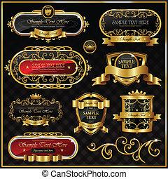 gold frame - vintage gold frame