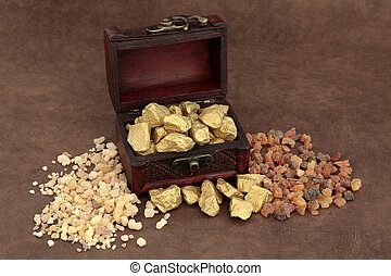 Gold Frankincense and Myrrh - Gold frankincense and myrrh...