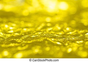 gold, gefaltet, papier