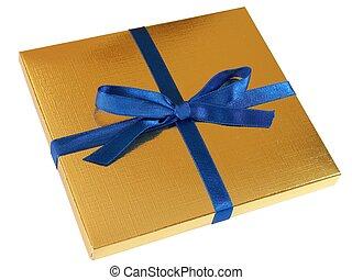 Gold gift box - 4