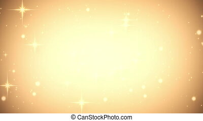gold glares festive loop background