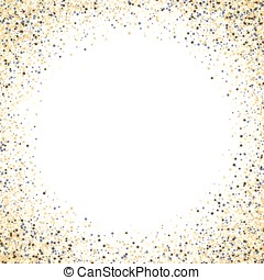 Gold glitter background. frame - Gold glitter background. ...