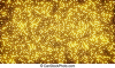 Gold glitter dots loopable background