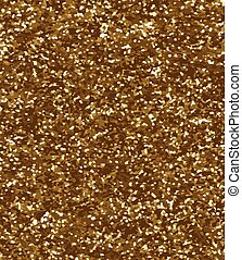 Gold glitter texture vector background could be used for your design