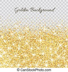 Gold glitter texture with sparkles - Gold glitter texture ...