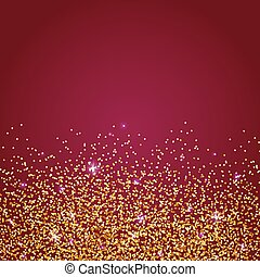Gold glittering abstract background