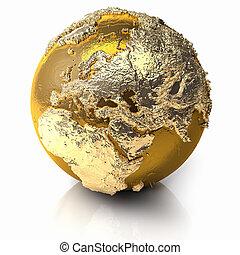 Gold Globe - Europe