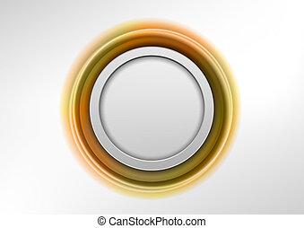gold graphic element