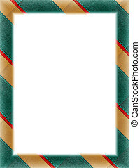 Gold & Green Border