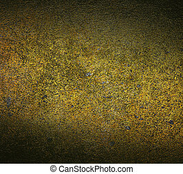 gold grunge background. concrete wall texture