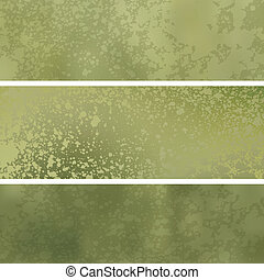 Gold grunge background with space for text. EPS 8