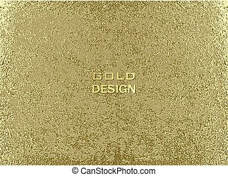 Gold grunge texture to create distressed effect. Patina...