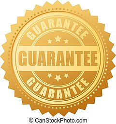 Gold guarantee vector seal