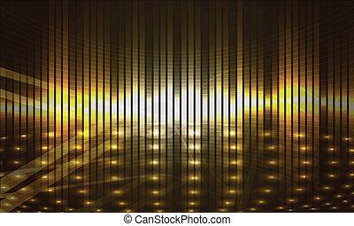 gold, hintergrund, abstrakt