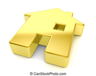 gold house symbol