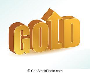 gold increase