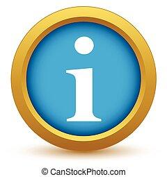 Gold info icon